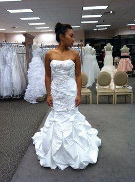 David's Bridal Wedding Dress $256