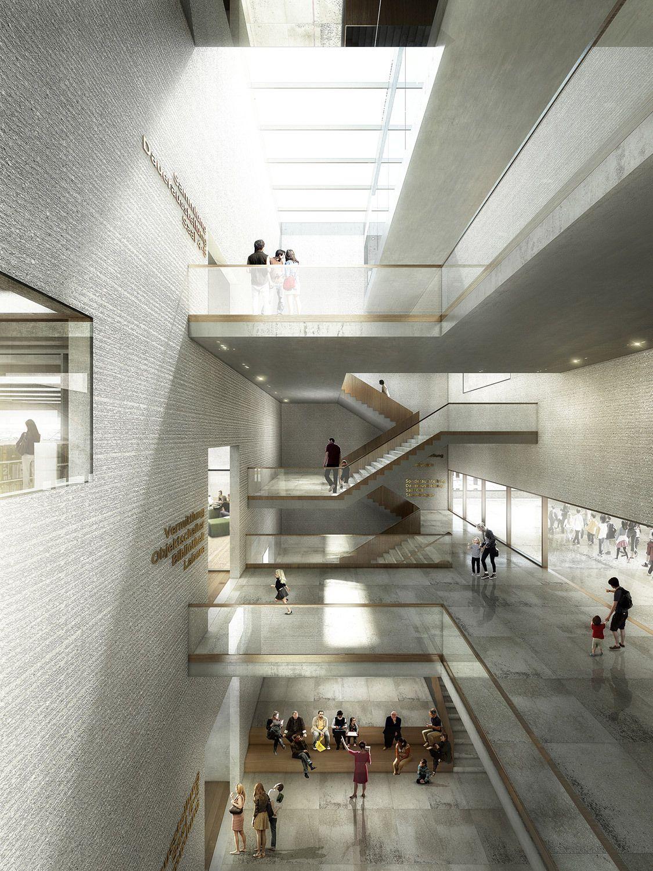 Neubau f r naturhistorisches museum und staatsarchiv for Architektur 20er