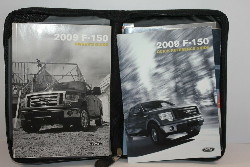 Ford F150 2009 Owners Manual With Sync And Black Soft Case Owners Manuals Ford Edge Sync