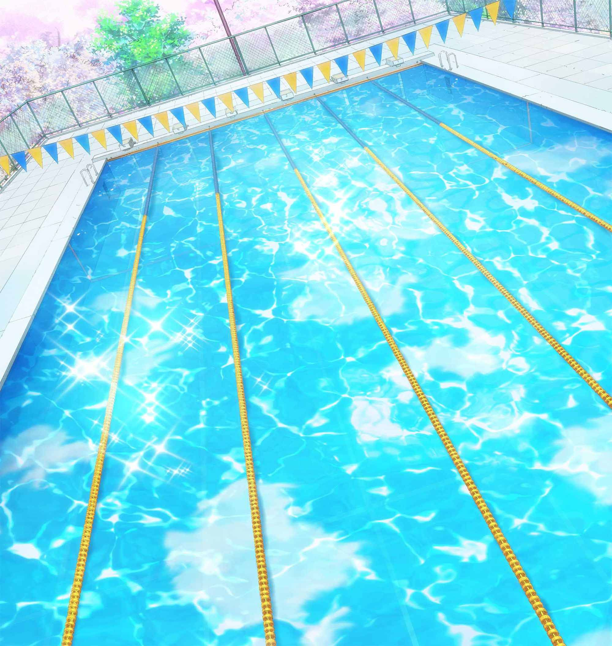 piscina anime pesquisa google paisagem pinterest anime scenery anime and illustrations