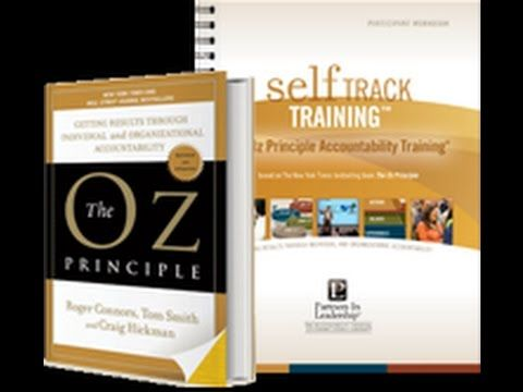 The Oz Principle Accountability Training Webinar Accountability