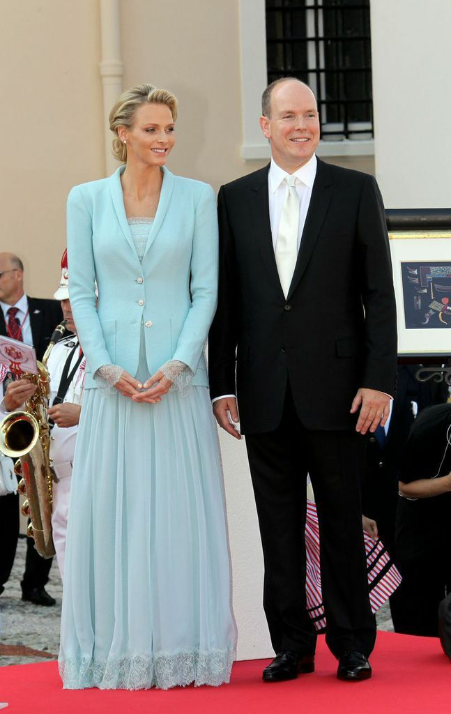 Royal Wedding Wednesday Prince Albert and Princess Charlene - Decor ...