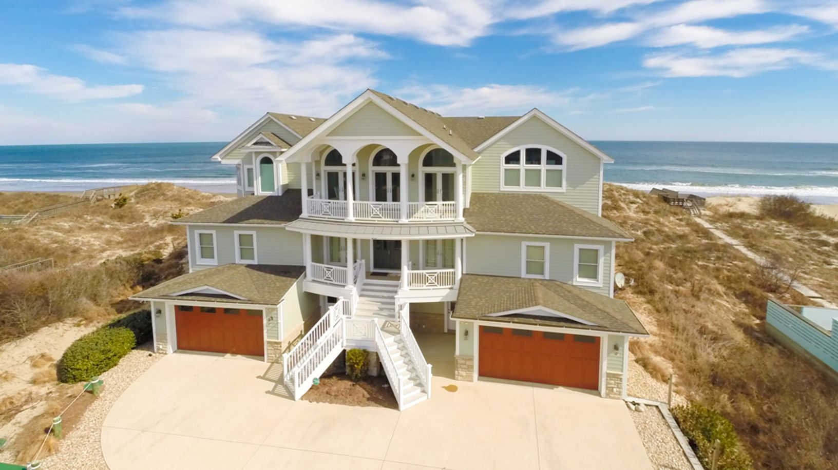 The Perfect Storm Oceanfront Vacation Rentals Outer Banks Vacation Beach House Rental