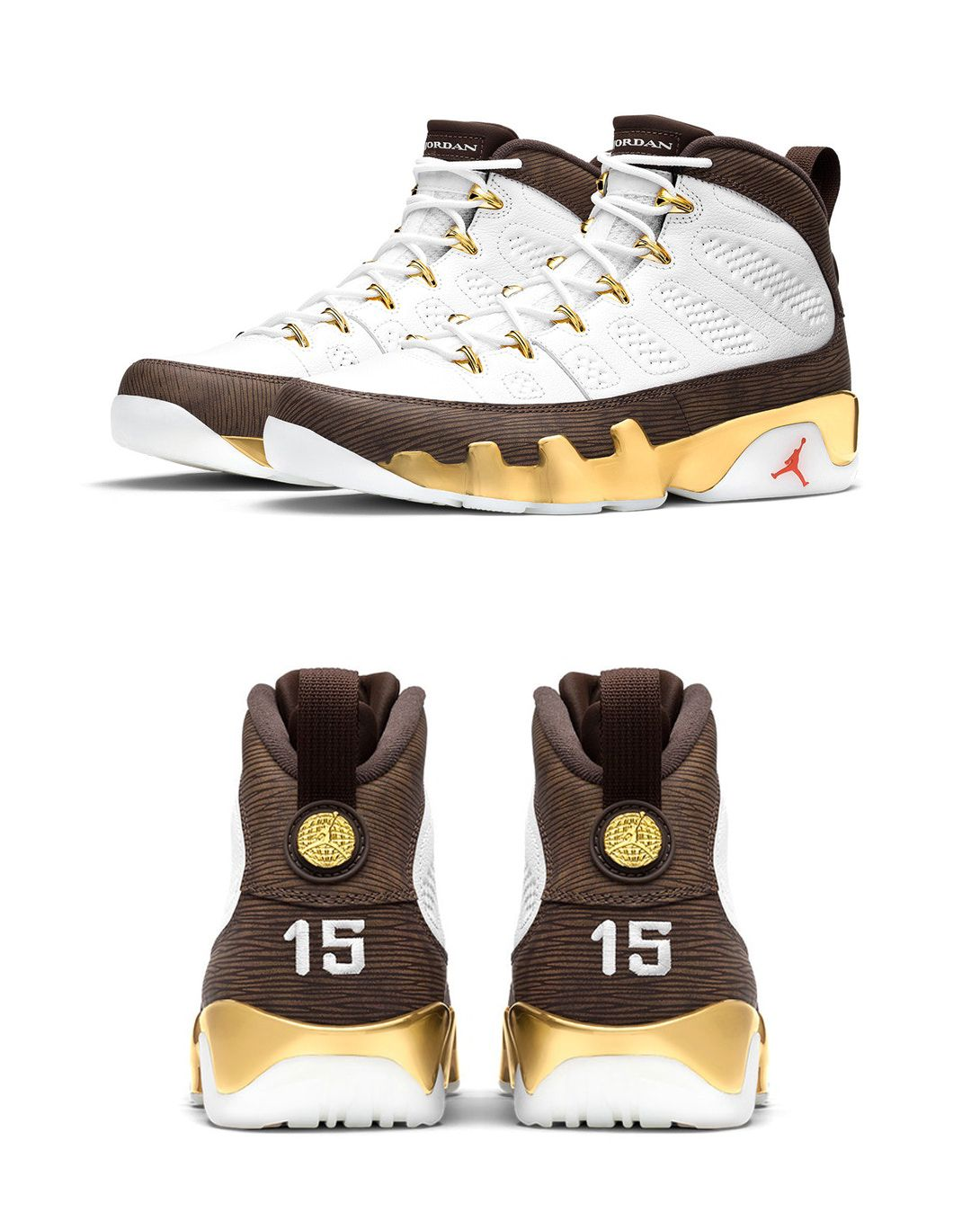 """d5aed5818f51c6 Air Jordan 9 """"Mop Melo"""" Honors Carmelo Anthony s 2003 Championship at  Syracuse"""