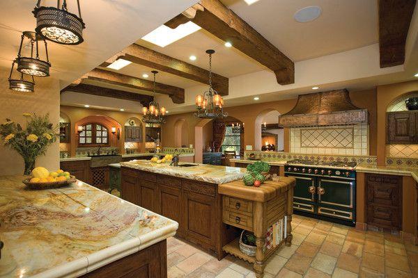 Granite Countertops And Open Kitchen