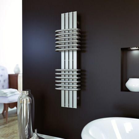 Bolero RVS design radiator badkamer 630x300 mat geborsteld
