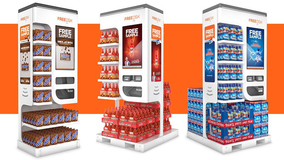 Automated Free Sample Kiosks Thwart Your Complimentary