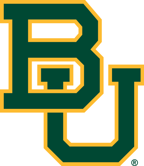 Baylor University Bears Football Helmet Logo Baylor University Logo Baylor University Baylor Bears Football