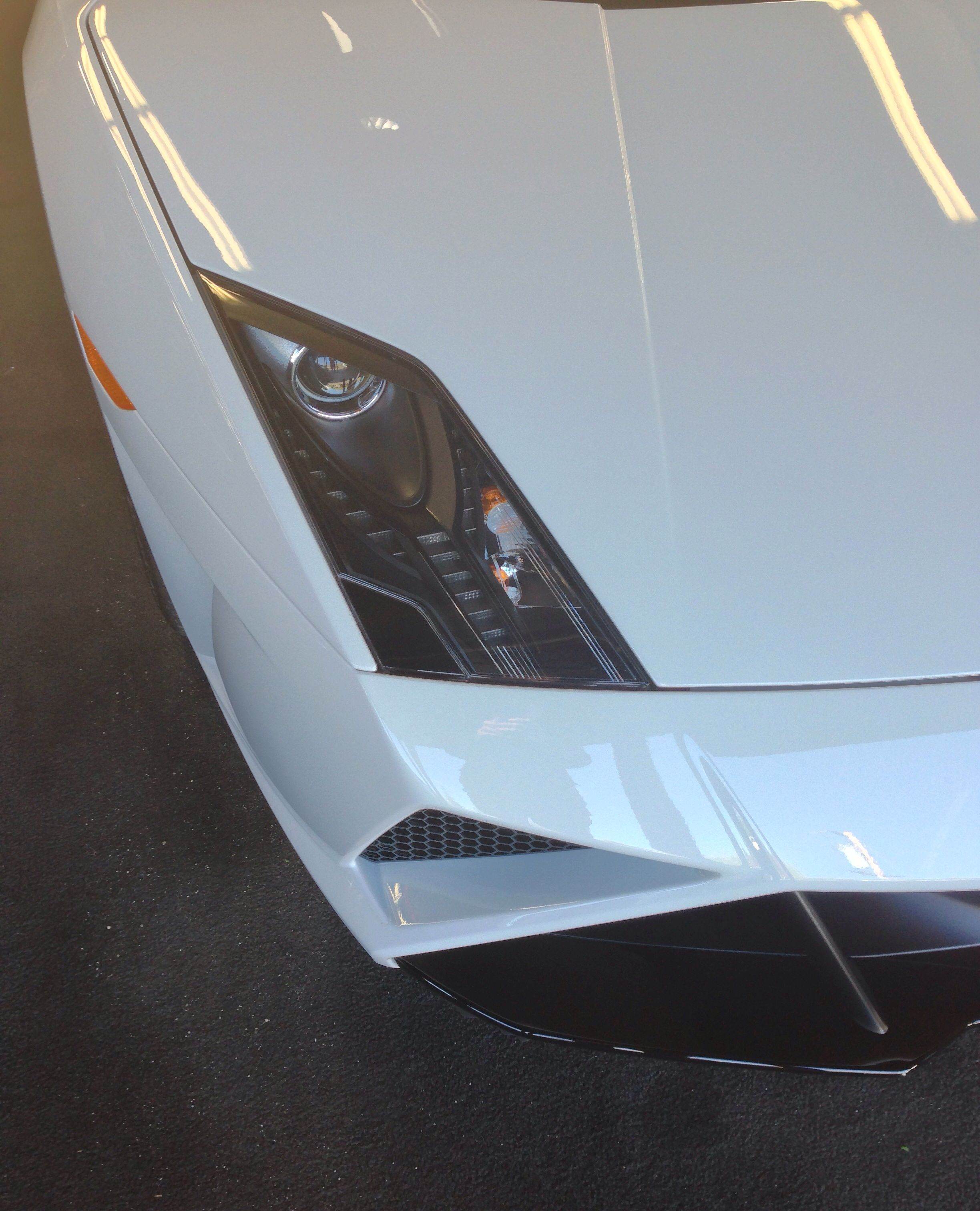 Lamborghini Gallardo Final Edition Headlight Detail Beautiful