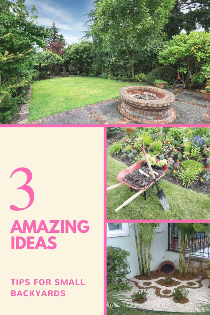 Superbe Great Tiny Backyard Landscaping Projects