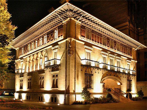 Palacio ibaigane 1900 sede athletic club bilbao mis - Arquitectura pais vasco ...