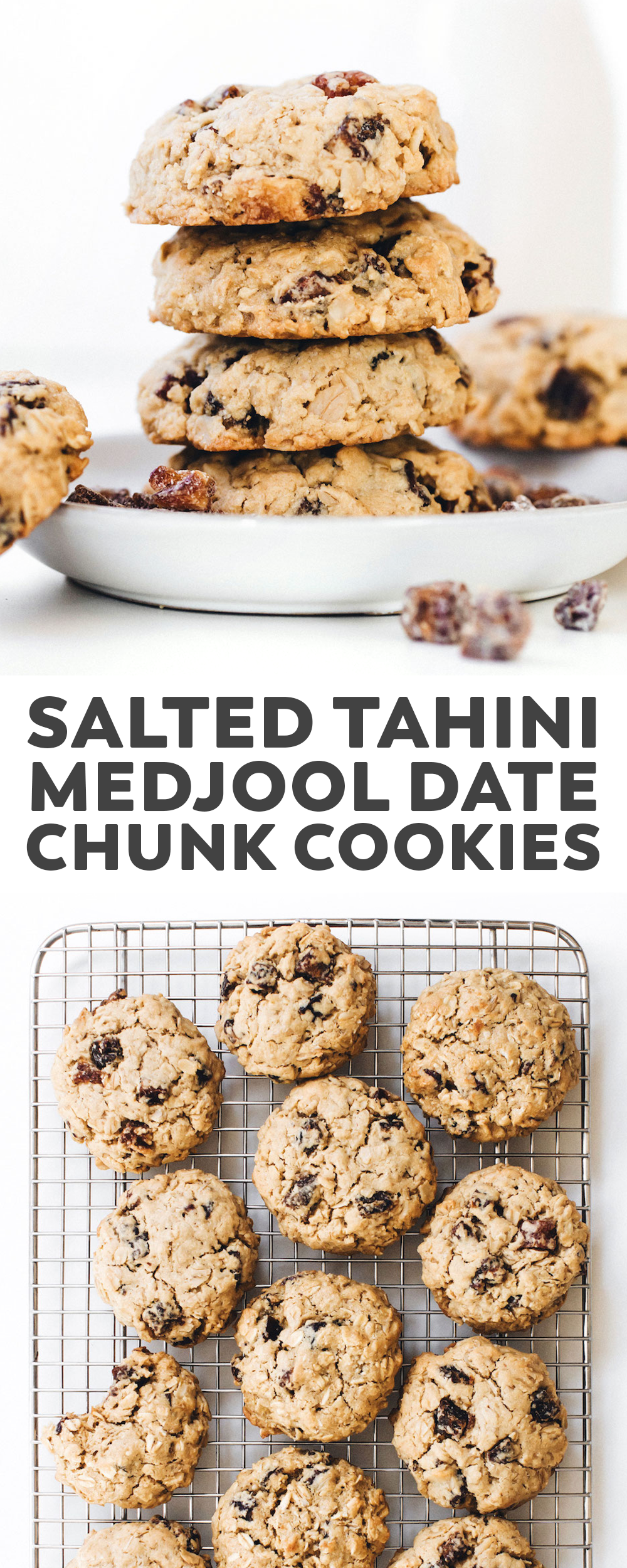 Tahini Medjool Date Chunk Cookies Vegan Gluten Free Vegan Cookies Fruit Recipes Soft Bakes