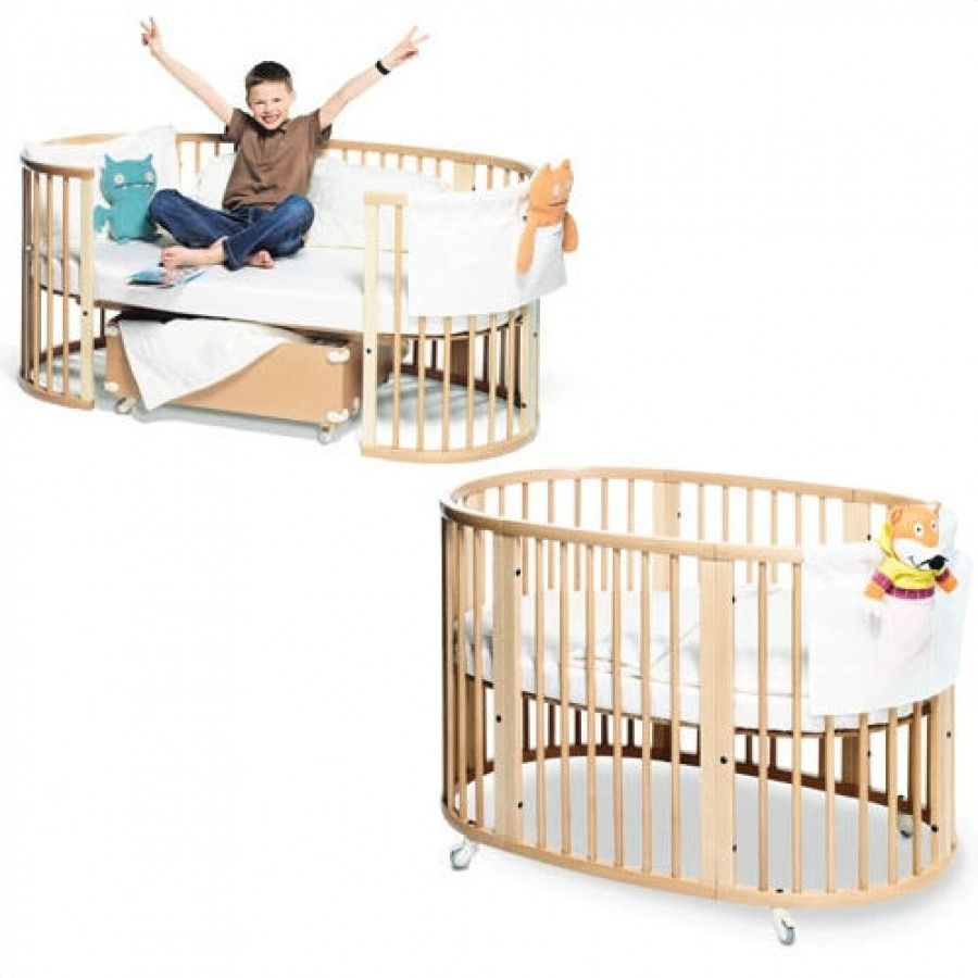 stokke sleepi system ii crib and junior bed set in walnut 652271 bed sets furniture and beds. Black Bedroom Furniture Sets. Home Design Ideas