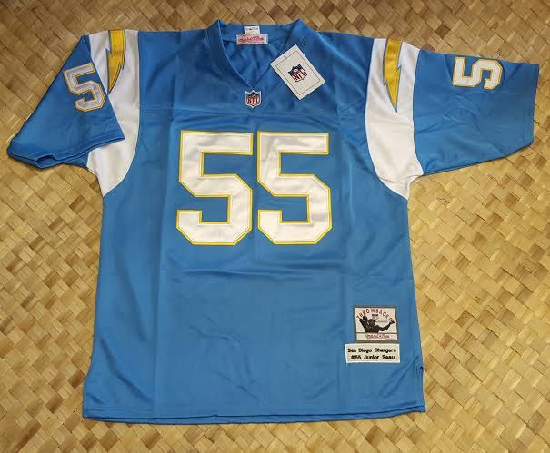 outlet store 91999 dbf4d Chargers Mitchell 32e3e E4324 Ness Throwback Blue Seau San ...