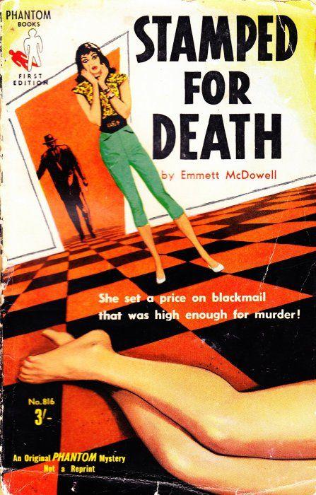 Phantom Book #816, 1959. Reprint of US Ace Book D-329. Cover art ...