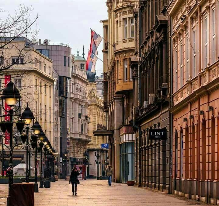 Knez Mihajlova Beograd Stari Kraj The Old Part