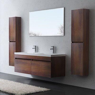 Details zu Design Badmöbel Badezimmermöbel Badezimmer Waschbecken - badezimmer waschbecken mit unterschrank