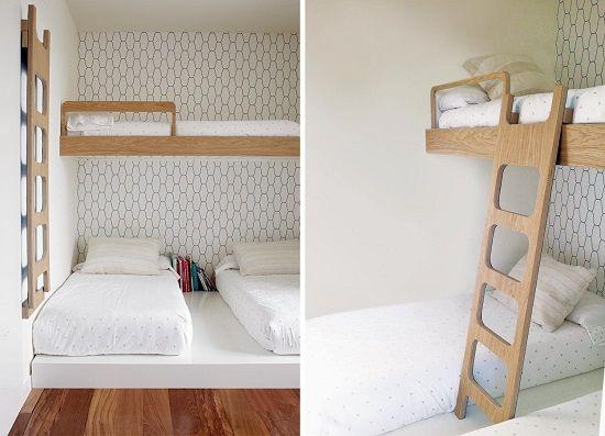 Muebles de dise o para ni os grandes beanhome - Habitaciones con tres camas ...