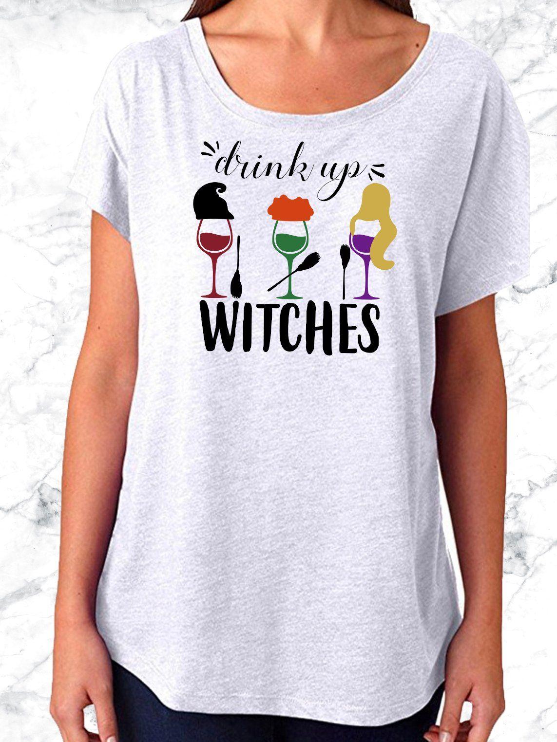 Drink Up Witches Disney Dolman Tee Disney world shirts