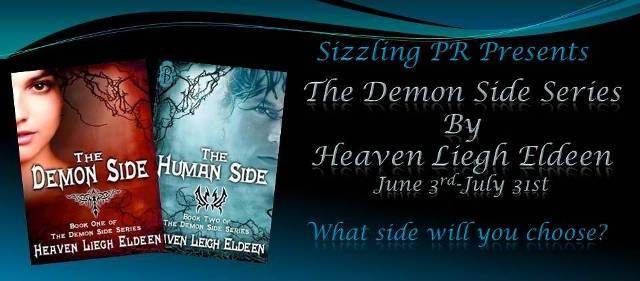 Spotlight: The Demon Side & The Human Side by Heaven Leigh Eldeen