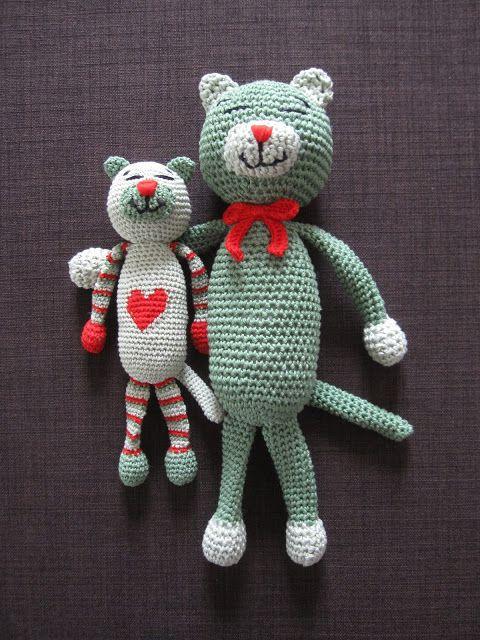 Amigurumi Katze häkeln #diy #häkeln #crochet #katze | Selber häkeln ...