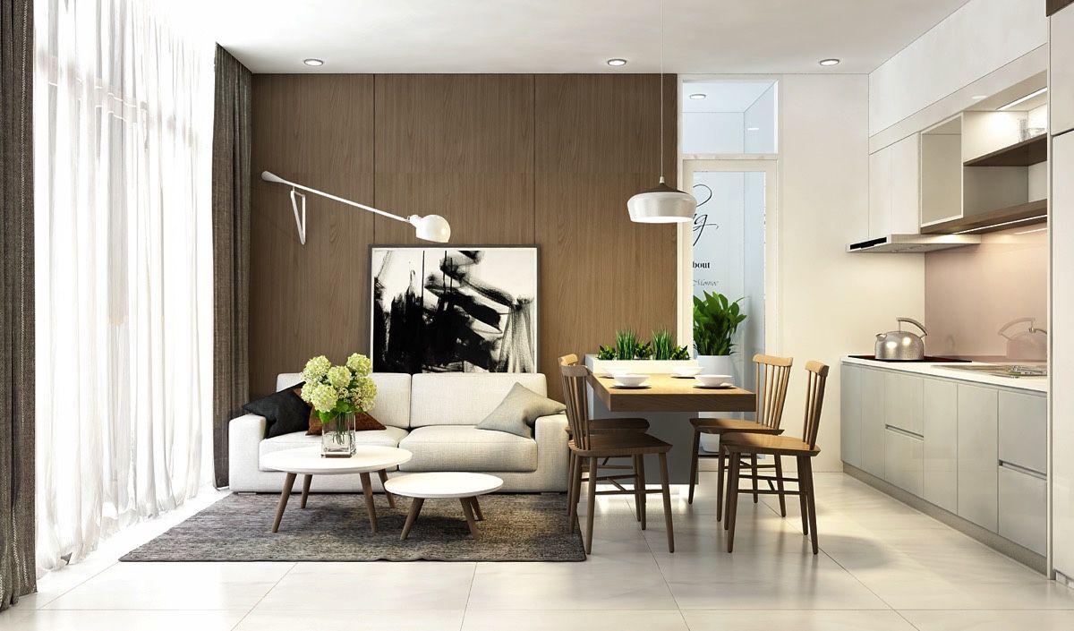 Sleek Open Plan Interior Design Inspiration For Your Home Interior Design Apartment Small Apartment Interior Design Interior Design