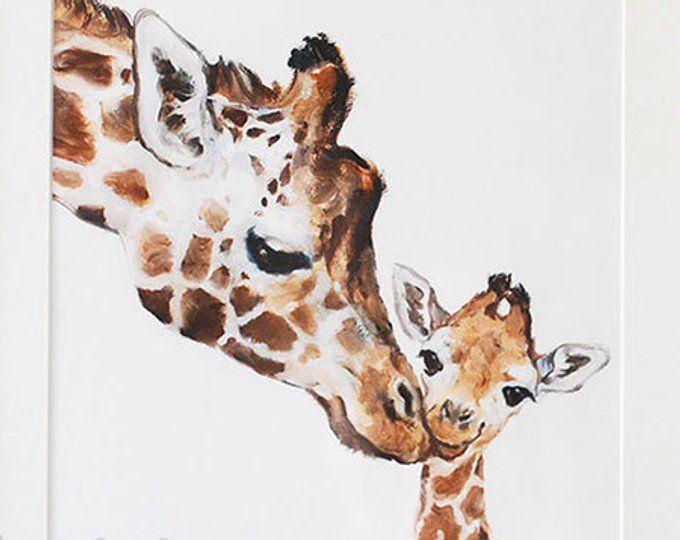 Photo of Lion Print Lion Nursery Fine Art Print, Lion Art ,Mother's Day, Lion Mom and Baby,  Lion Safari Nursery Art, Lion For Kids