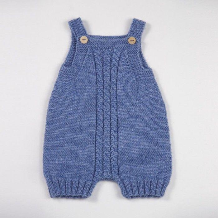 d21acf77023 3 x Rompers - Opskriftspakke (Strik) fra Go Handmade | Baby rompers ...