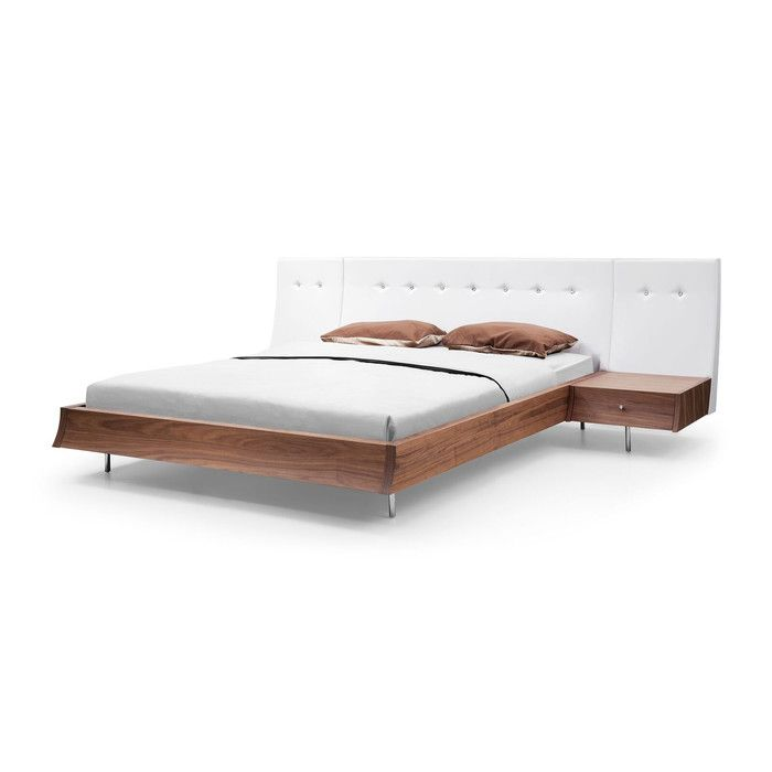 Best You Ll Love The Concavo Upholstered Platform Bed At 400 x 300