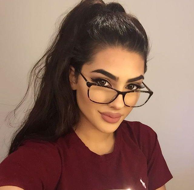 f5807c8a2b378 Fashion Eye Glasses, Makeup With Glasses, Girls With Glasses, Cute Glasses,  Eye