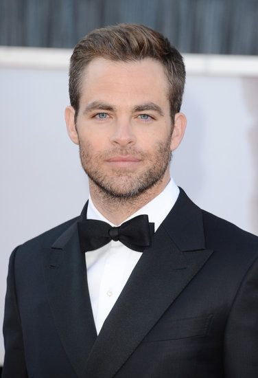 Chris Pine at the #Oscars | See more handsome stars here!