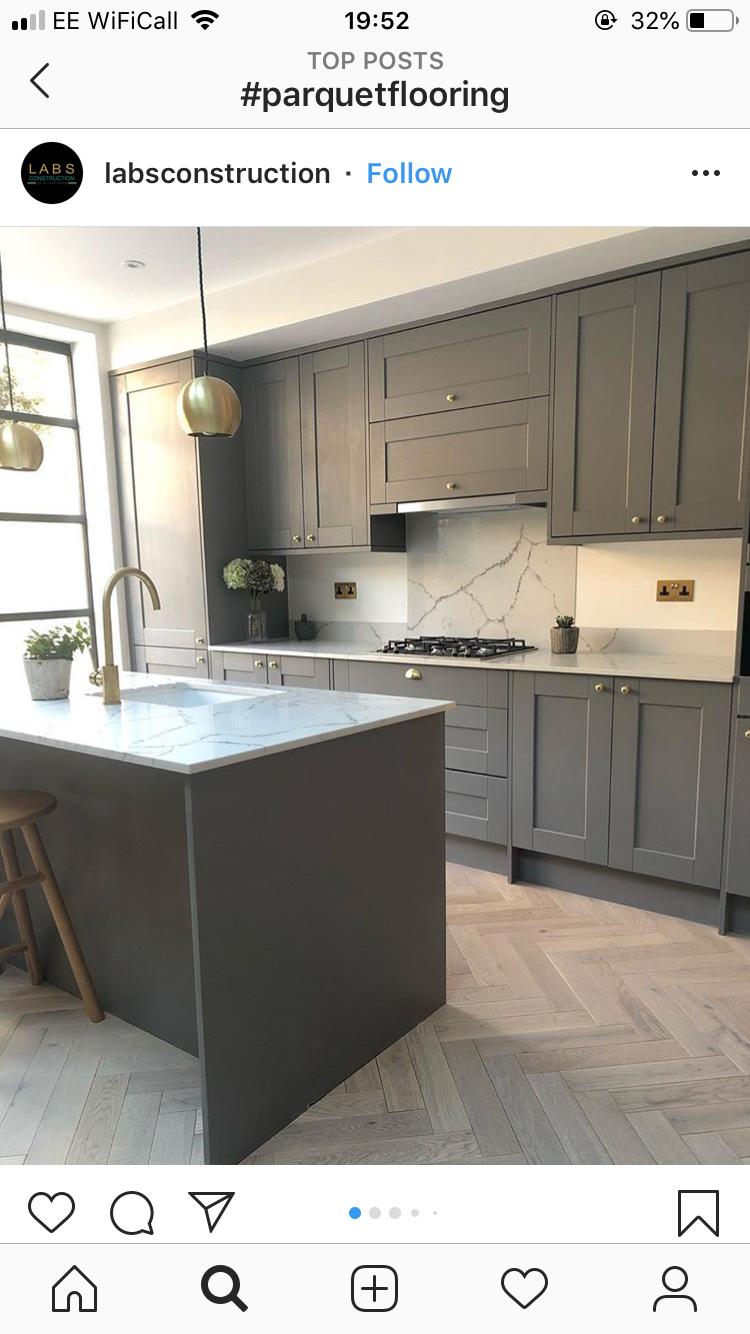 Ideal kitchen in 2020 Kitchen redesign, Open plan