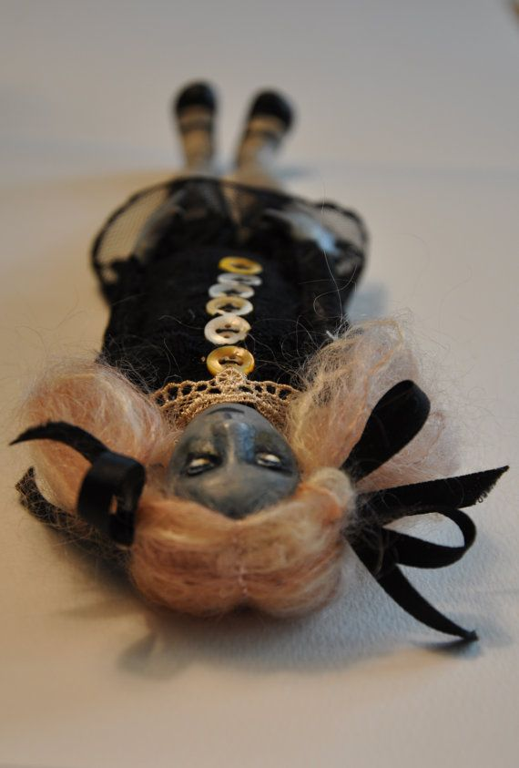 Wraith One of a Kind Ghost Doll by RoseanneMWatson on Etsy