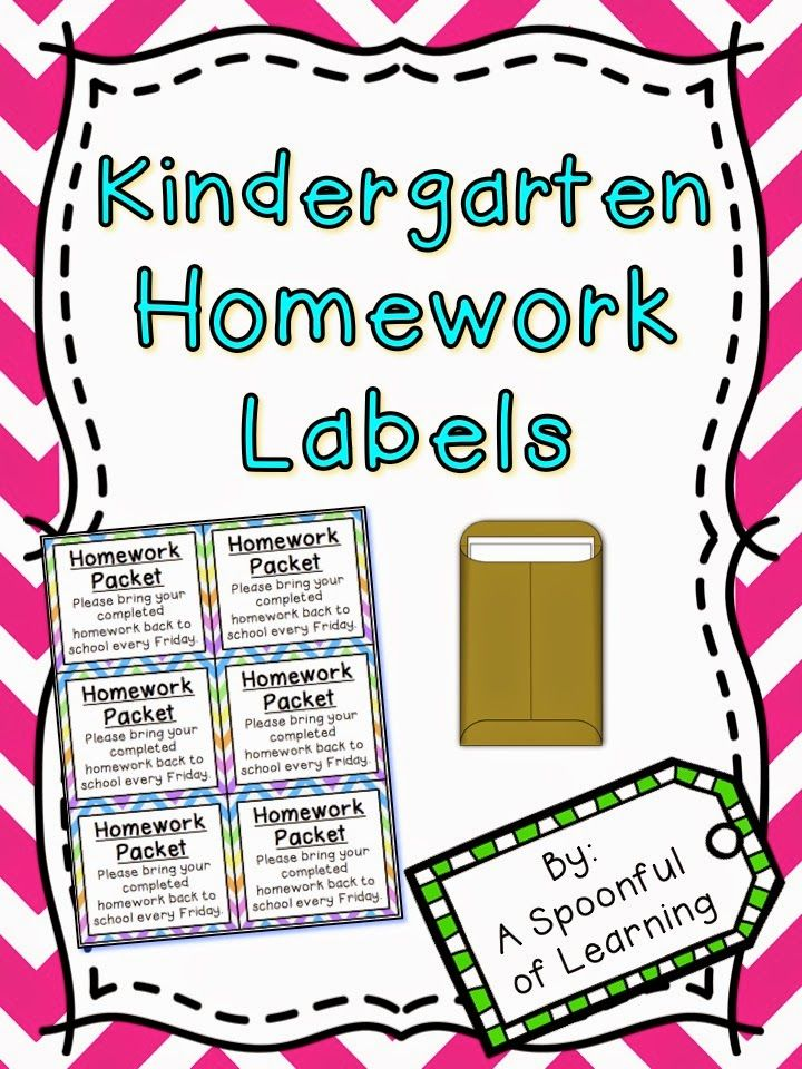 free homework labels in english and spanish