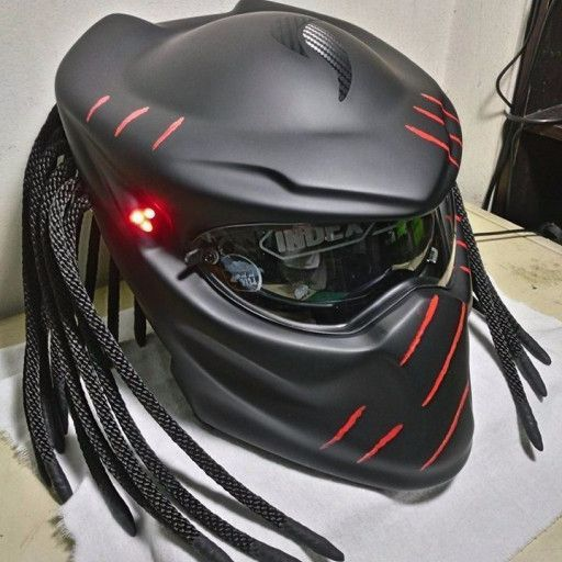 65986707e90 CONDITION NEW THIS IS MODIFIED HELMET MOTORCYCLE NOT FOR COSPLAY PURPOSE  MATERIAL Mix CARBON FIBER and MAT ROVING FIBER VERY STRONG GUARRANTEE on  Full-Faced ...