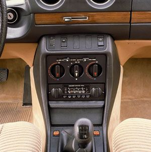 Mercedes-Benz W123 Interieur