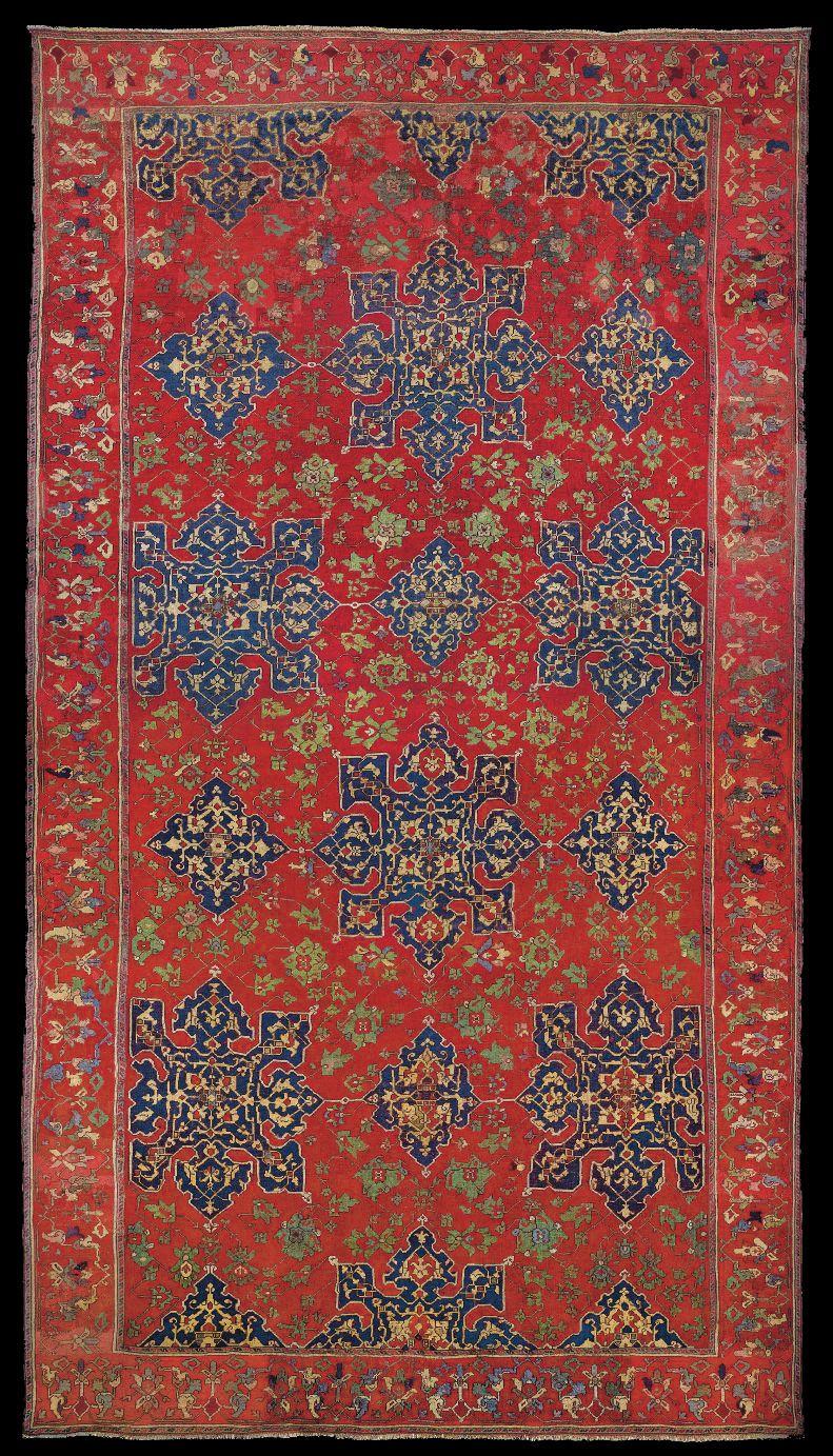 daniele ghigo star ushak carpet first half 16th century christies london oriental rugs and. Black Bedroom Furniture Sets. Home Design Ideas