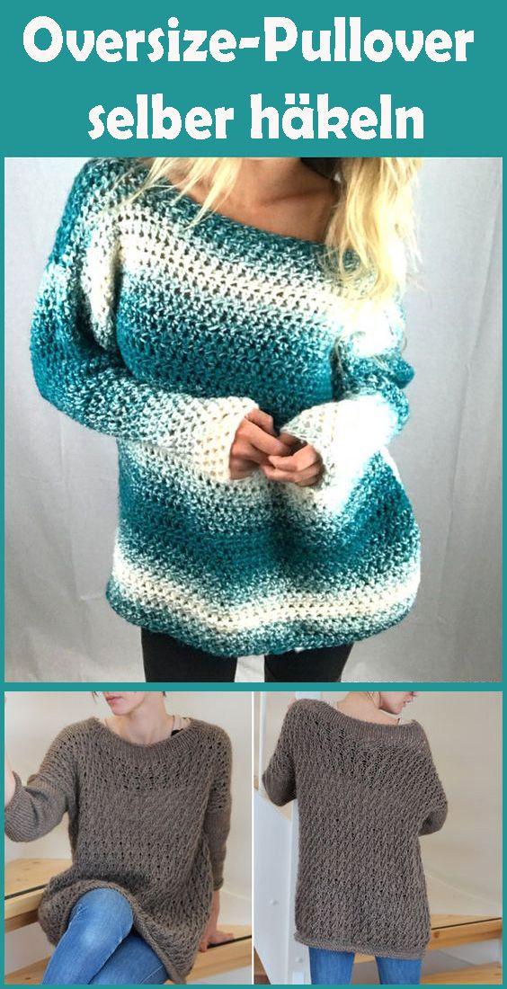 Photo of Oversize-Pullover selber häkeln – Kostenlose Anleitung für Anfänger
