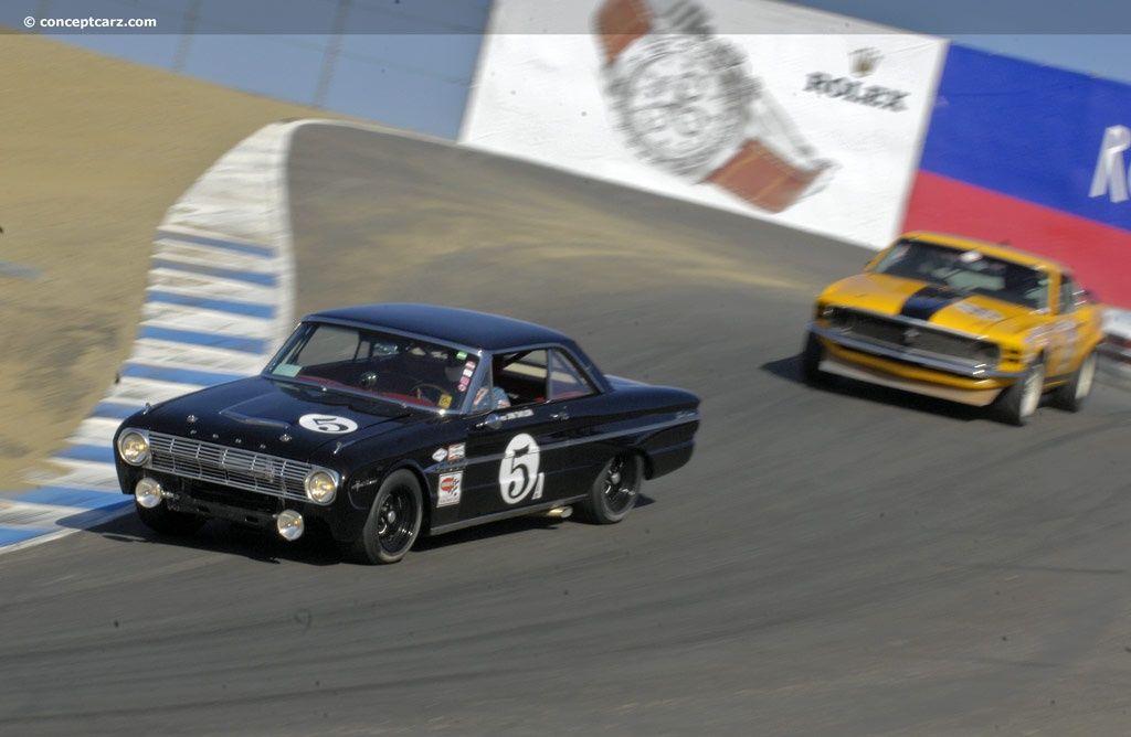 1963 Ford Falcon Futura Series 10 at the Monterey Historic Races at ...