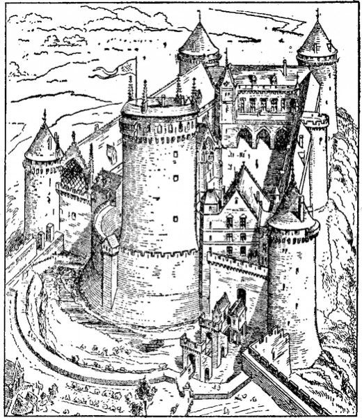 Free Printable Castle Coloring Pages for Kids and Adults ...