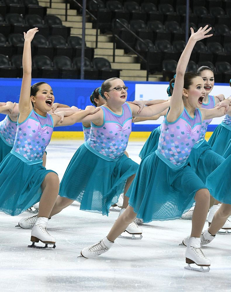 Competition Recap 2017 Midwest Pacific Coast Synchronized Skating Championships Synchronized Skating Synchronized Skating Dresses Figure Skater