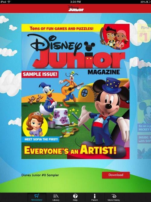 Disney Junior Digital Magazine For Ipad Now Available Mickeys