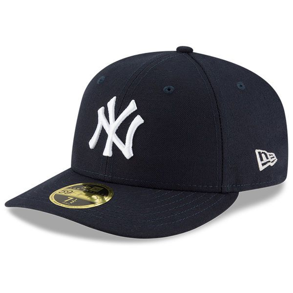 Low Profile 59Fifty Fitted Cap NY Yankees - Red New Era govCr4u