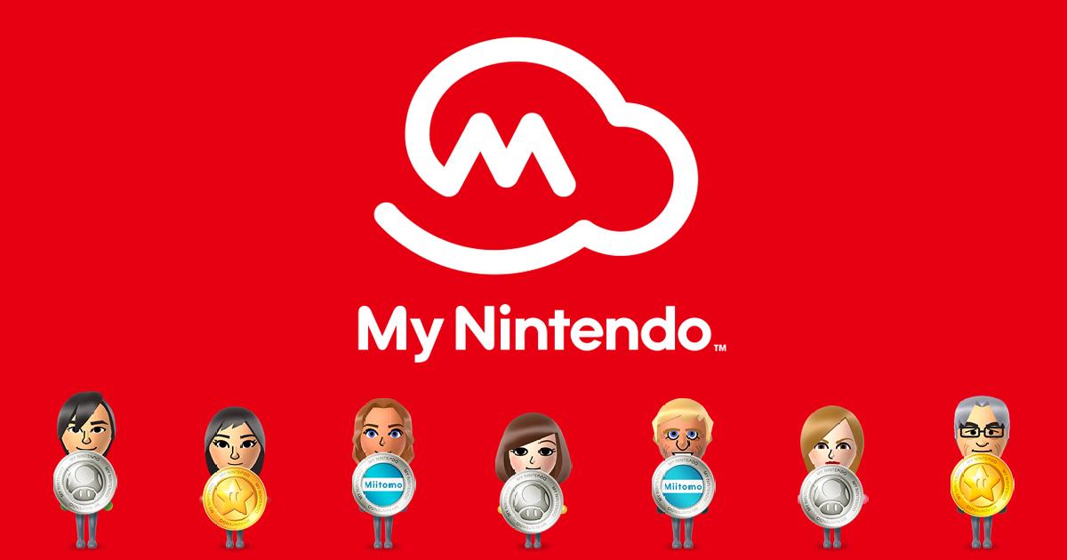 Página de recompensas My Nintendo