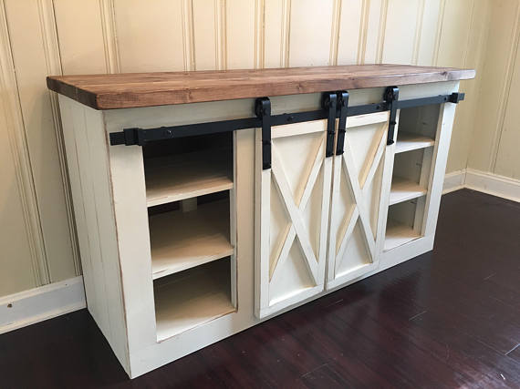 Build A Grandy Sliding Door Console Free And Easy Diy Project And Furniture Plans Home Furniture Plans Home Decor