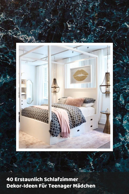 40 Erstaunlich Schlafzimmer Dekor Ideen Fur Teenager Madchen Schlafzimmer Dekor Ideen Schlafzimmer Design Zimmer
