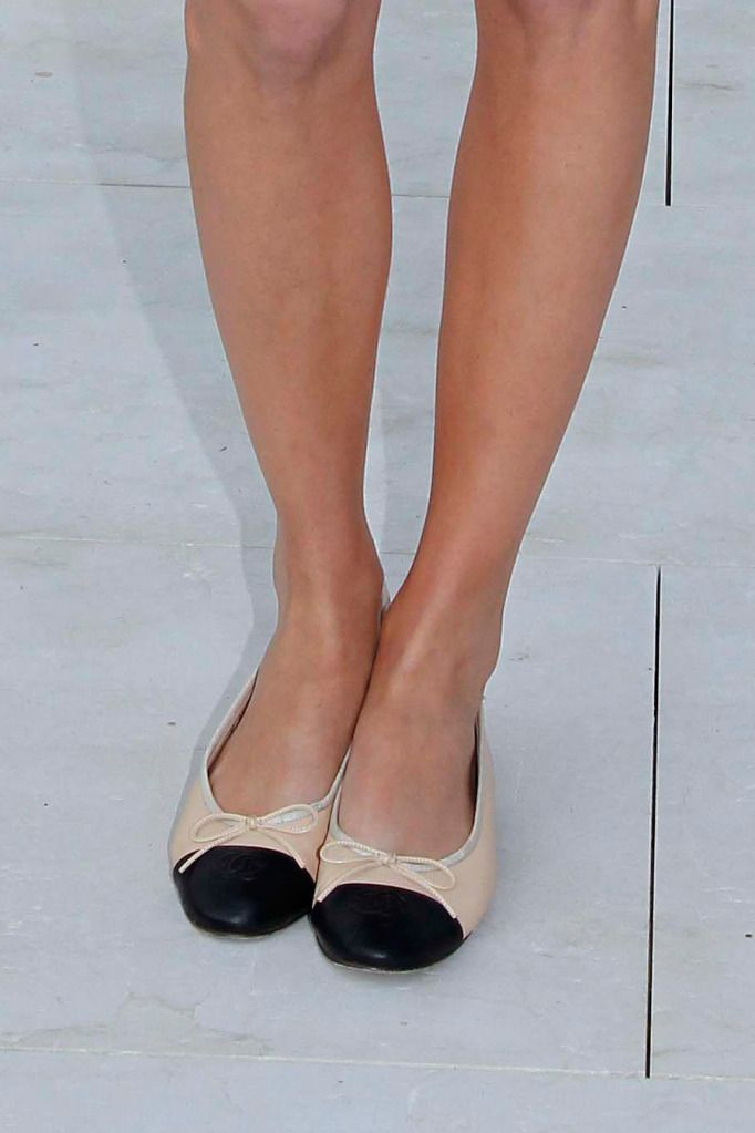ec1242256cd chanel ballet flats - I really want these!