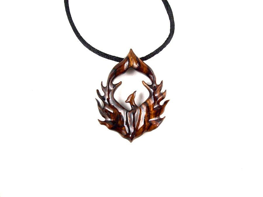 Phoenix necklace phoenix pendant phoenix jewelry firebird phoenix necklace phoenix pendant phoenix jewelry firebird necklace firebird pendant carved aloadofball Images