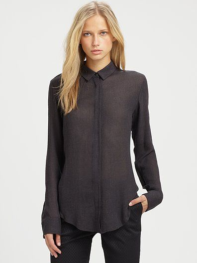 T by Alexander Wang - Wool-Blend Shirt