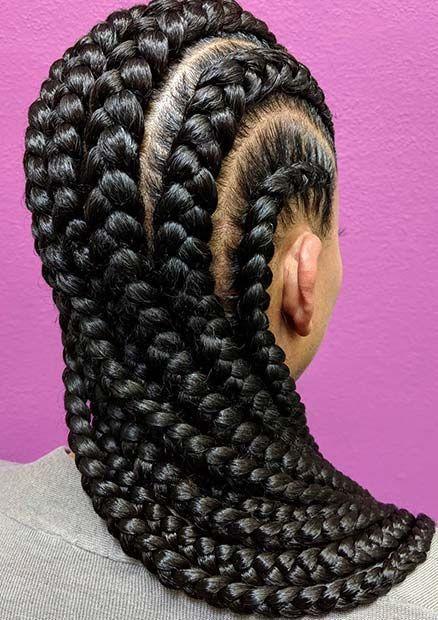 10 geflochtene Frisur Ideen für Balayage-Ombré Haar